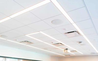 systeemplafond met airconditioning